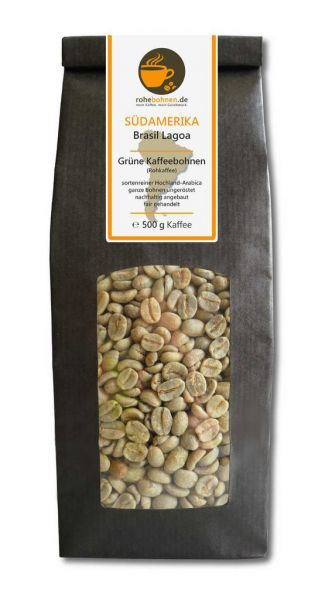 Green Coffee Beans - Arabica Brazil Lagoa