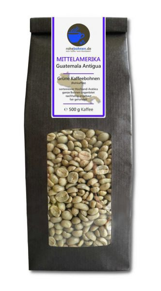 Green Coffee Beans Arabica - Guatemala Antigua