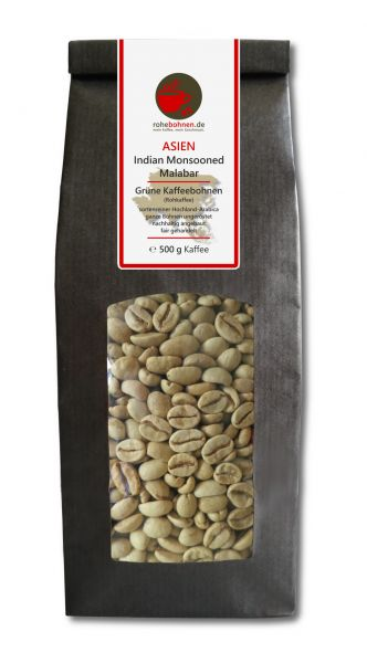 Rohkaffee Indian Monsooned Malabar