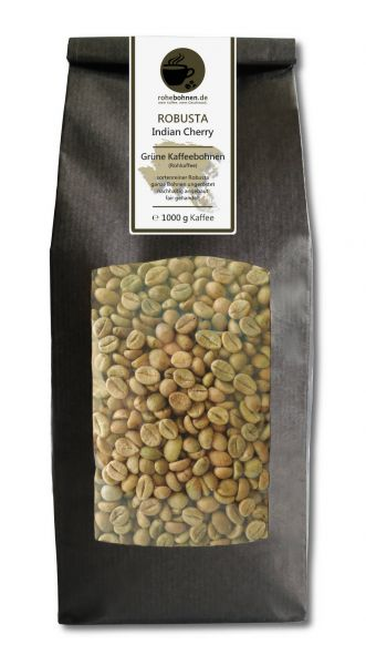 Rohkaffee Robusta Indian Cherry