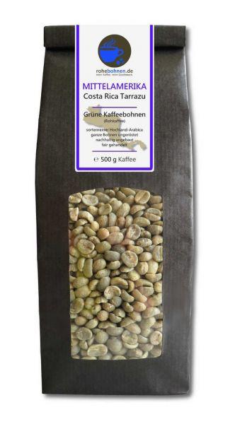 Rohkaffee Costa Rica Tarrazu
