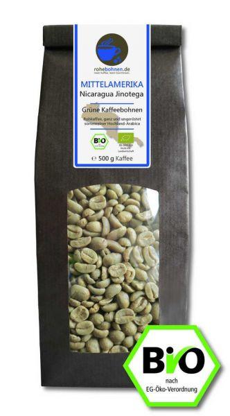 Bio Rohkaffee Nicaragua Jinotega