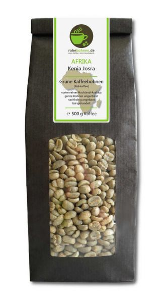 Green Coffee Beans - Arabica Kenya Josra