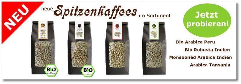 Wo wir grünen Kaffee kaufen