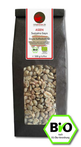 Bio Rohkaffee Sumatra Gayo